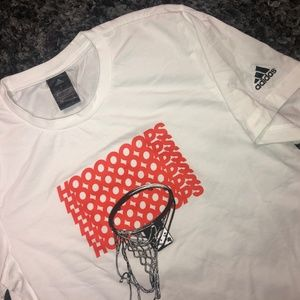 Adidas Basketball drifit t shirt